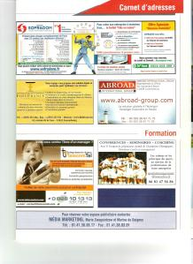 Annonce de l'offre Telecomtel dans le magazine Management